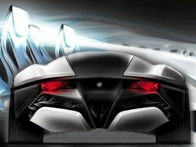 2010 Alfa Romeo Sports Car Bertone Pandion Concept - Sport Cars And The Concept