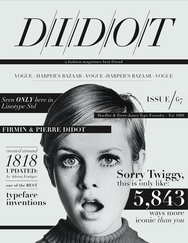didot fashion mag icon — Designspiration