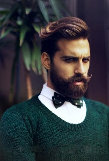 Beard style | Men Style Tattoo Beards Long Hair Art | Pinterest