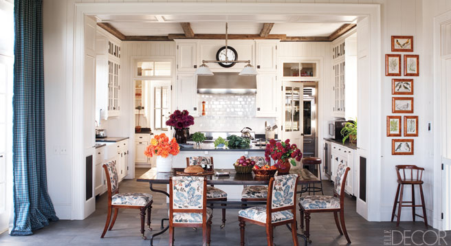 ... Kitchen Dining Areas Designer Kitchen Decor Elle Decor 435207 ...