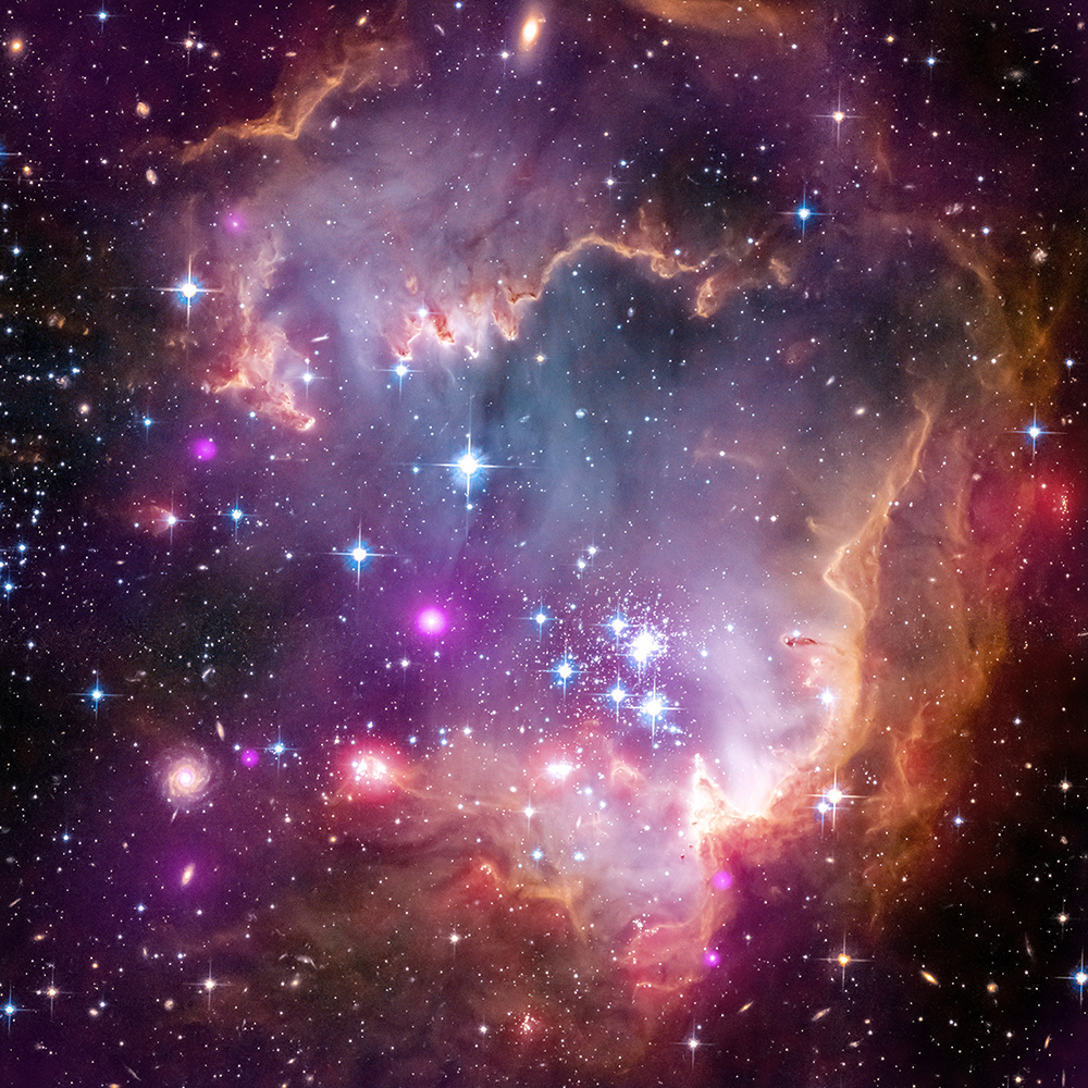 HubbleSite - Picture Album: Taken Under the Wing of the Small Magellanic Cloud