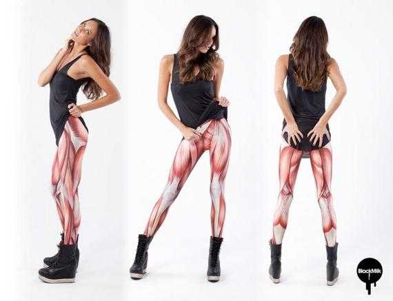 Show Some Leg: Anatomical Muscle Leggings | Incredible Things