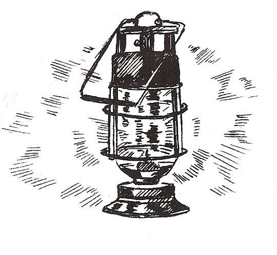camping lantern coloring page