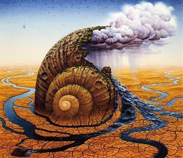 Fantastic illustrations by Jacek Yerka | InspireFirst