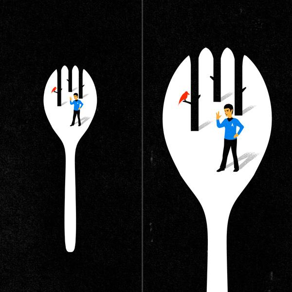 The Art of Negative Space by Tang Yau Hoong | inspirationfeed.com