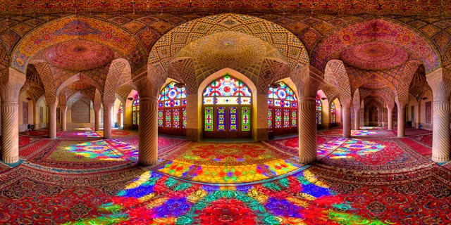Colorful Iranian Architecture – Fubiz™