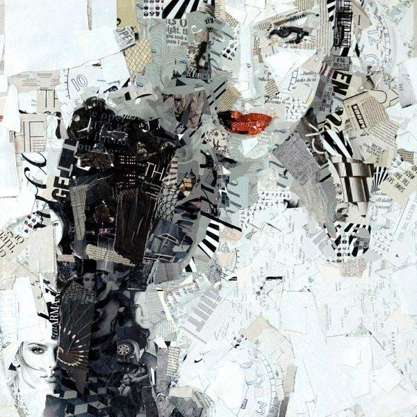 Collage Portraits by Derek Gores | Pondly