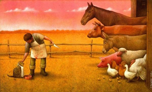 Satiric Artworks by Pawel Kuczynski | Pondly