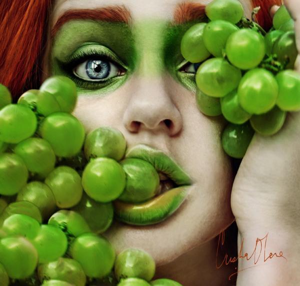 Tutti Frutti Self Portraits By Cristina Otero