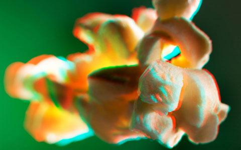 Incredible 3D photos of Popcorn — Lost At E Minor: For creative people