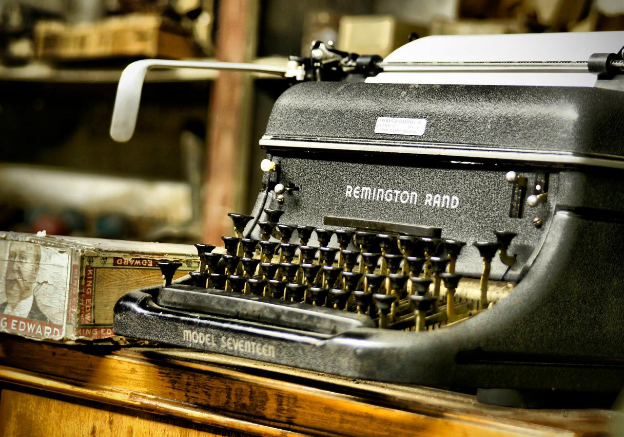 Typewriter on Fotopedia
