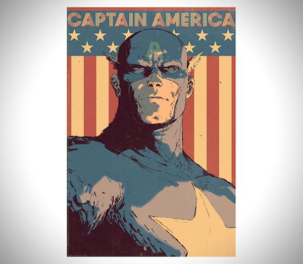 Artist Draws Superhero Portraits From Marvel's 'The Avengers' - DesignTAXI.com