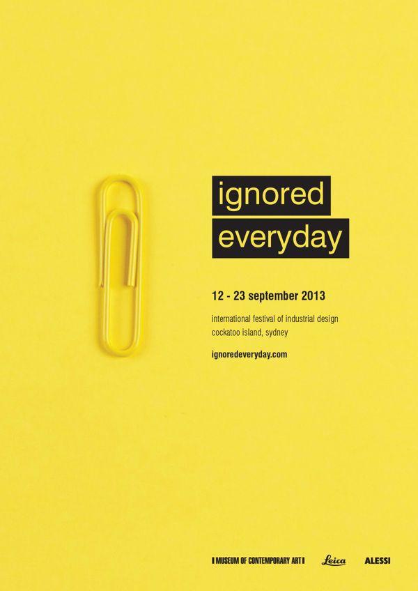 Graphic design inspiration, festival posters