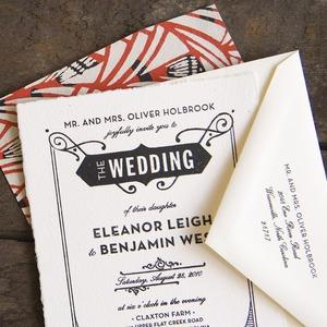 Hello Tenfold — eleanor wedding invitations
