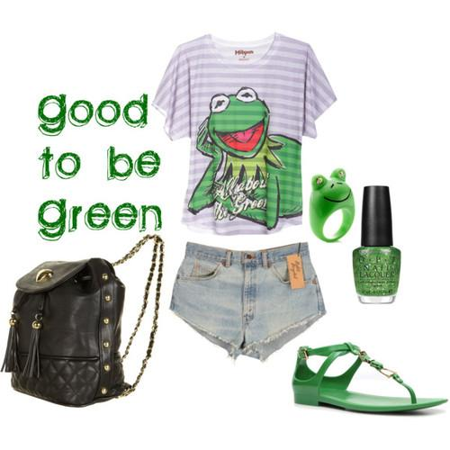 Good to be Green - Polyvore