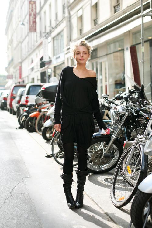 On the Street…..The Cool Shoulder , Paris « The Sartorialist
