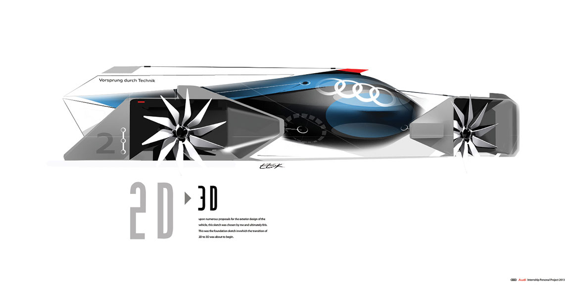 Audi Airomorph Concept Design Sketch Car Body Design