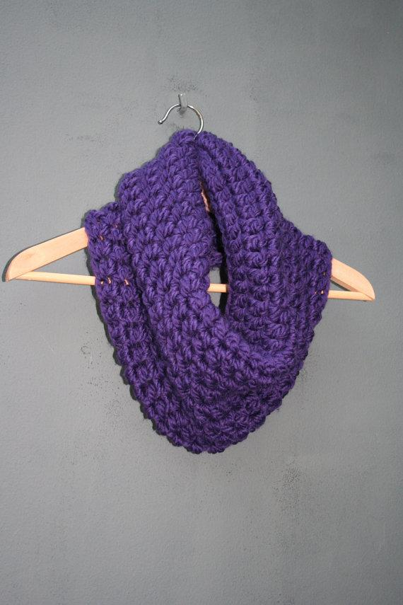 Crochet Pattern Chunky Cowl Super Easy by prettycrochetshop