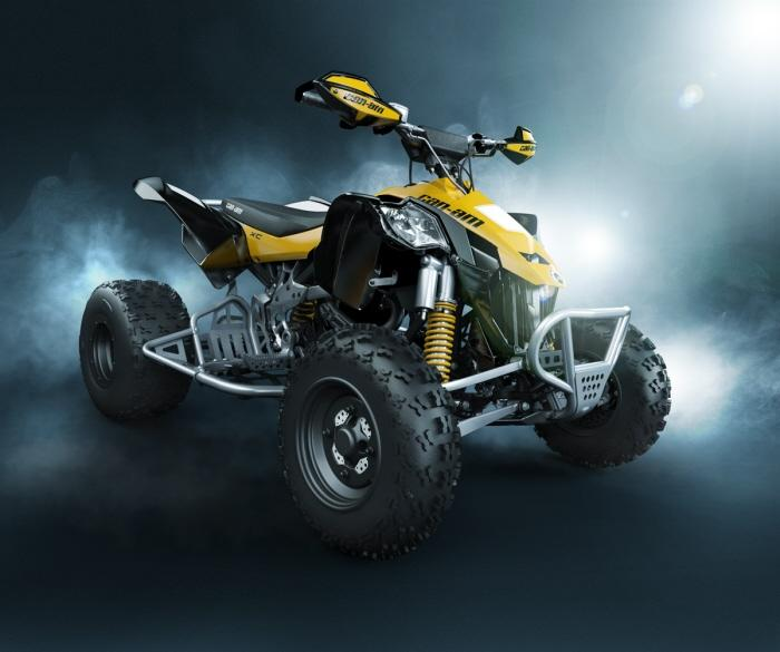 CanAm quad - 100% cgi by Mike Campau at Coroflot