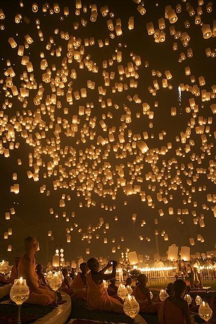 How Random / Chinese lanterns