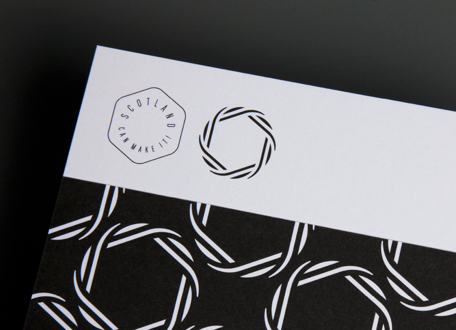 Brand Identity for Scotland Can Make It! by Graphical House - BP&O