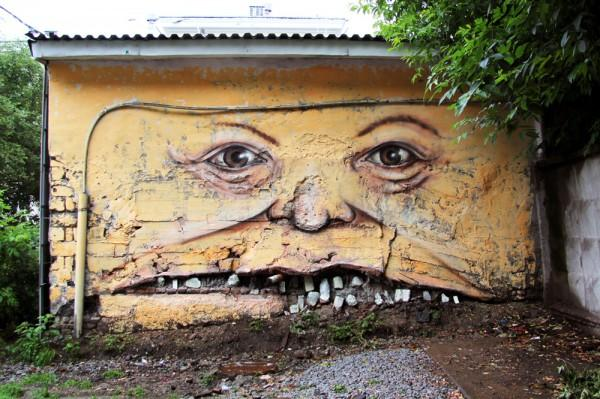 The Whimsical Street Art of Nomerz | Colossal