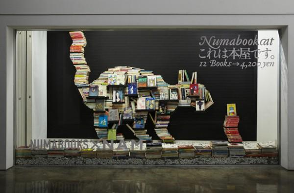 Numabookcat: A Mobile Pop-up Book Shop | Colossal
