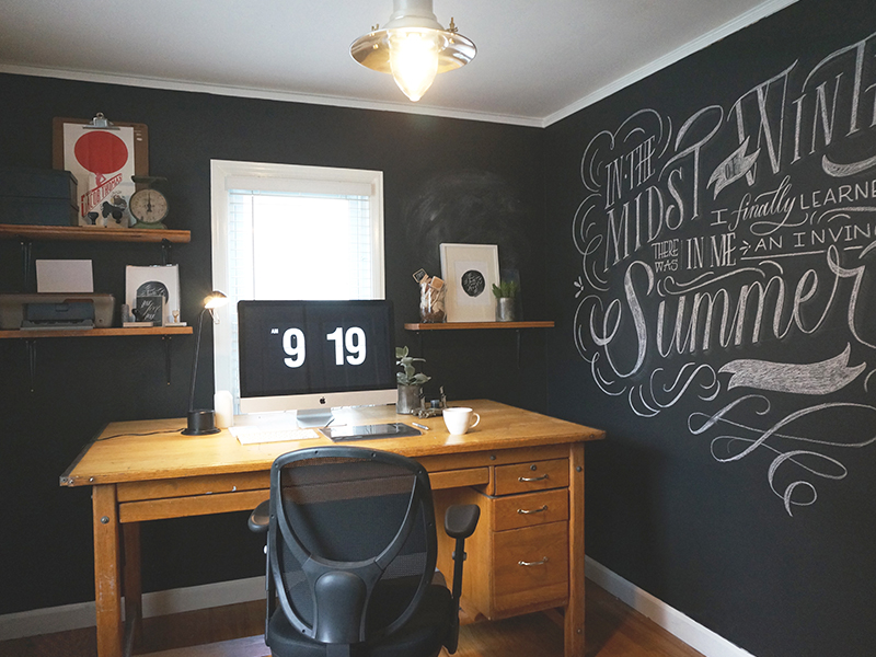 My Workspace by Molly Jacques on Inspirationde