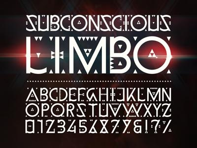 Erok Y Brahma Limbo :: Subconscious Limbo Typeface by Boris Pelcer