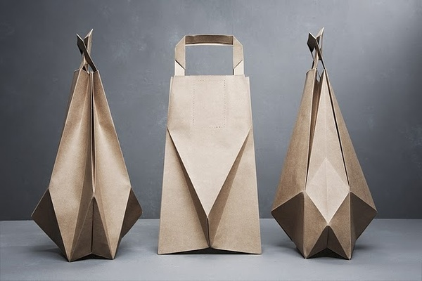 Packaging / Origami inspired paper bags