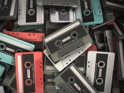 Audio Cassette by Valerio Landa