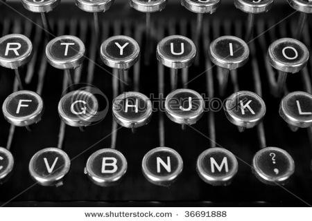 Google Image Result for http://image.shutterstock.com/display_pic_with_logo/260227/260227,1252398793,2/stock-photo-black-and-white-classy-shot-of-an-old-typewriter-s-keys-dirty-and-dusty-and-worn-through-lots-of-36691888.jpg