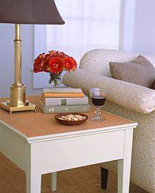 Cork-Top Table - Martha Stewart Home & Garden