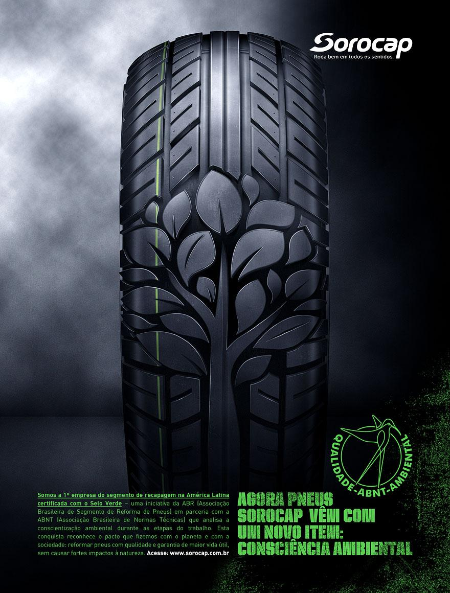 Green tire - Advertising - Creattica