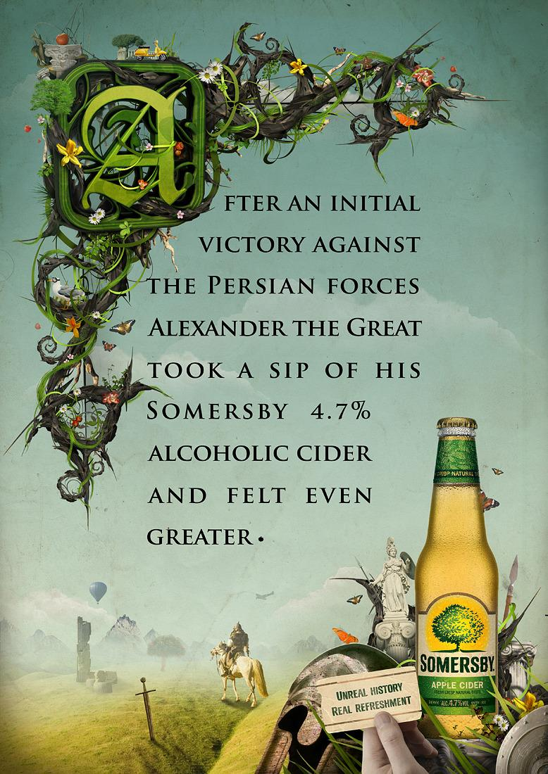 Carlsberg: Somersby - Advertising - Creattica