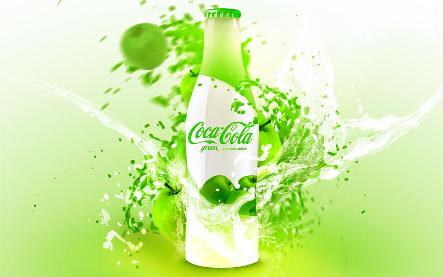 Coca-Cola Green - Advertising - Creattica
