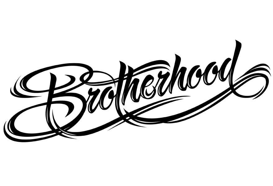 Brotherhood - Typography - Creattica