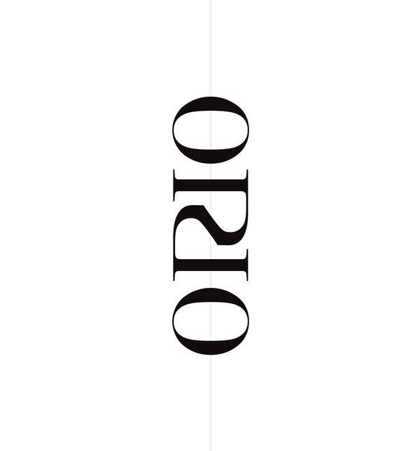ORIO Jewellery - Typography - Creattica