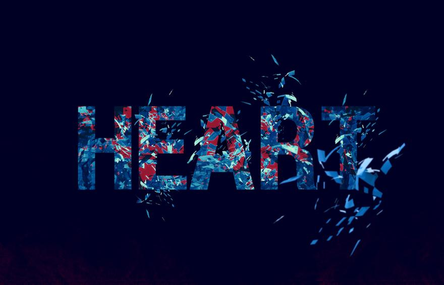 Heartbreak - Typography - Creattica