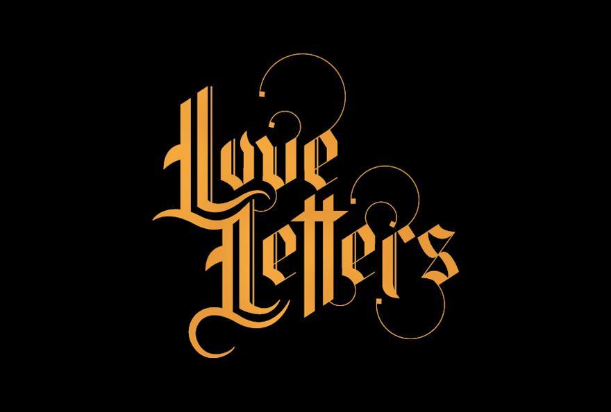 Love Letters - Typography - Creattica