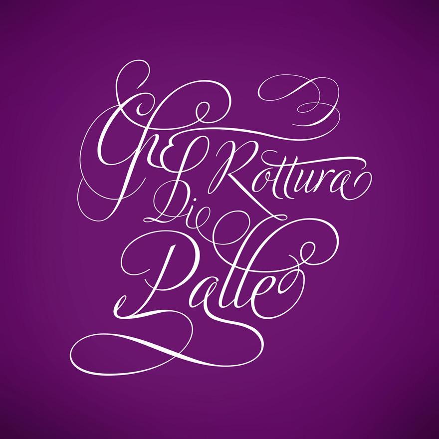 A Boring Day - Typography - Creattica