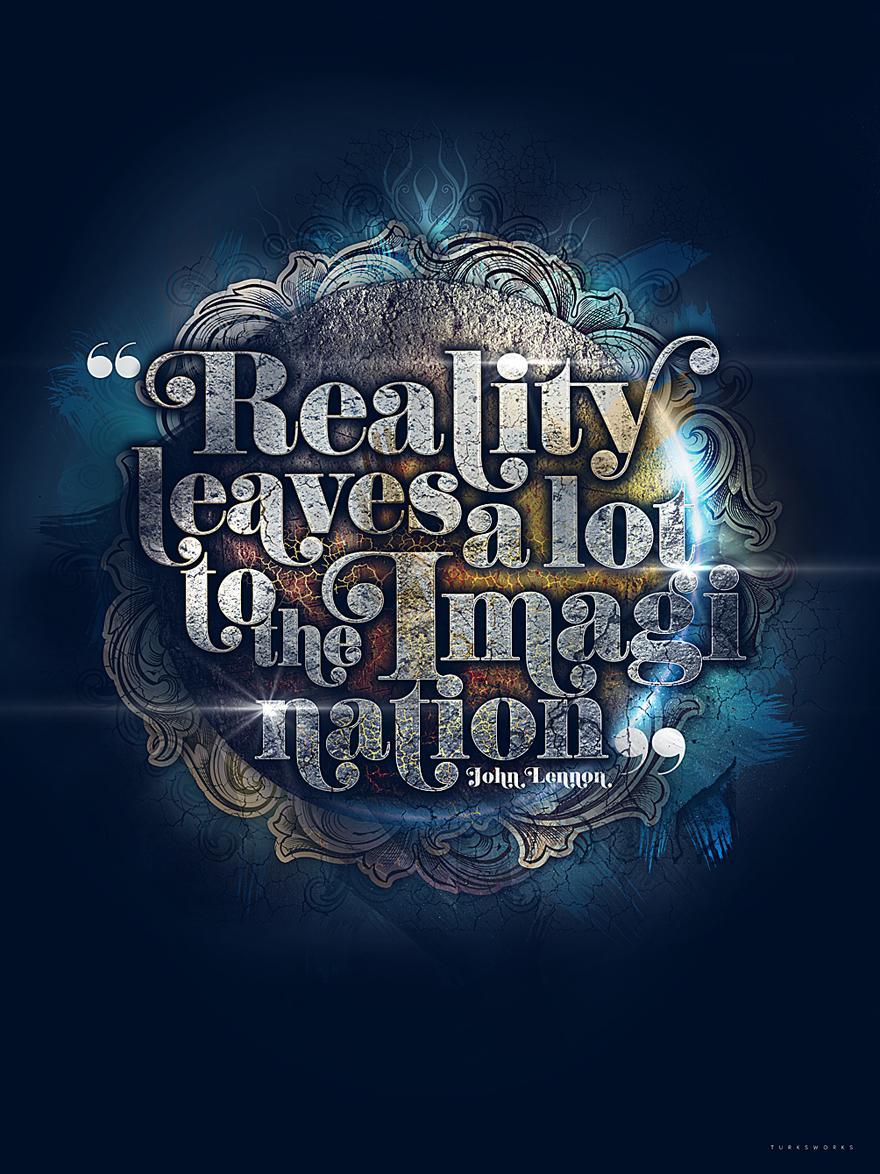 Reality - Typography - Creattica