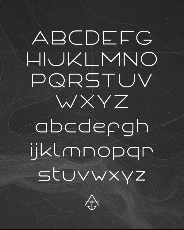 ANCHOR FONT - Typography - Creattica