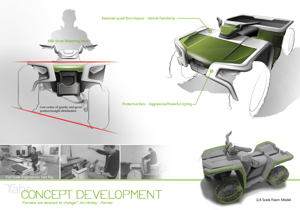 Tahr Quad - Design Process and Function on