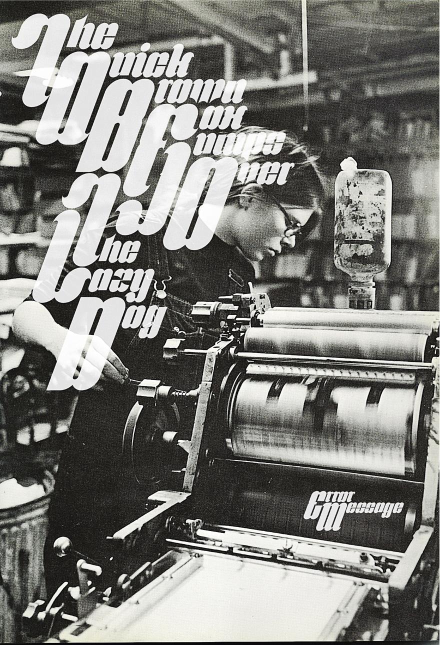 Typeface: Frederick Pangram - Typography - Creattica
