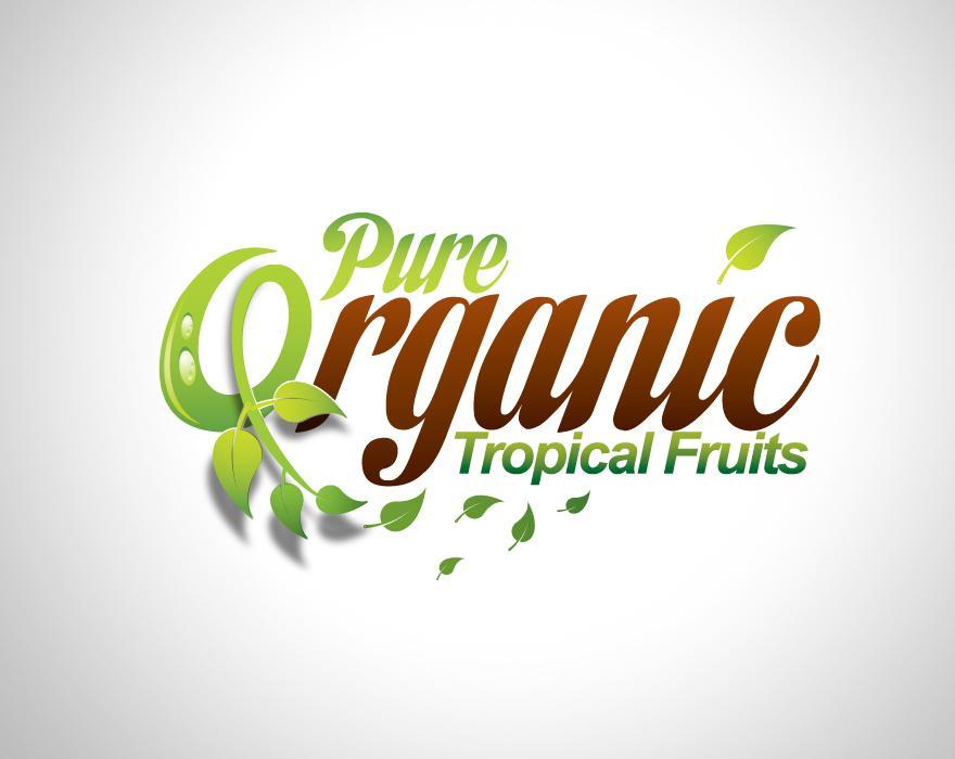 Pure Organic - Logos - Creattica