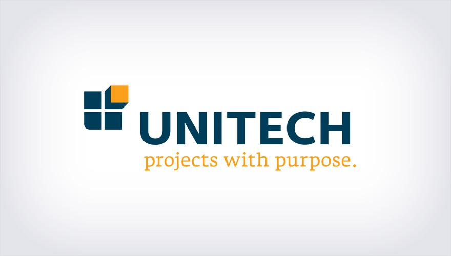 Unitech Construction Management Identity Design - Logos - Creattica