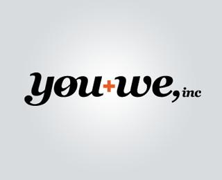 you+we, inc. identity - Logos - Creattica