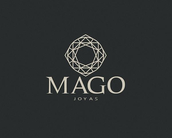 Mago Jewels - Logos - Creattica