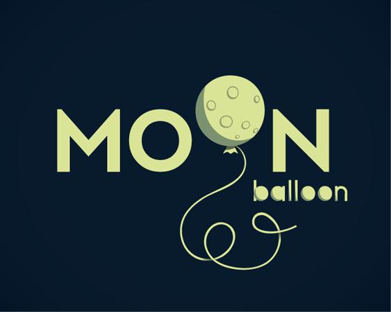 MOON BALLOON - Logos - Creattica